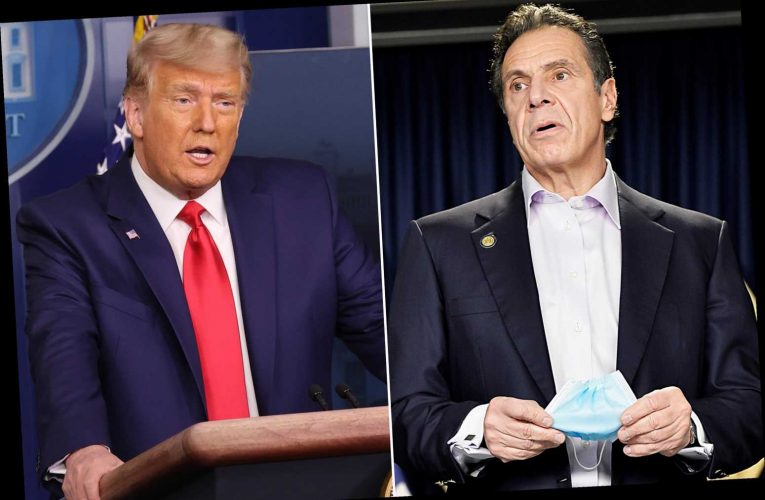 Gov. Cuomo takes President Trump's side against 'disrespectful' reporters
