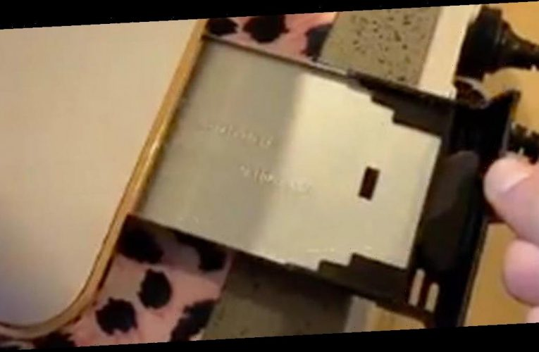 Pro cleaner shares 'hidden' compartment inside toaster leaving viewers amazed