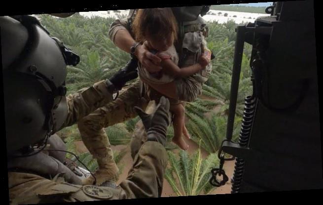 U.S. Army rescues girl from Honduran city hit by Tropical Storm Eta