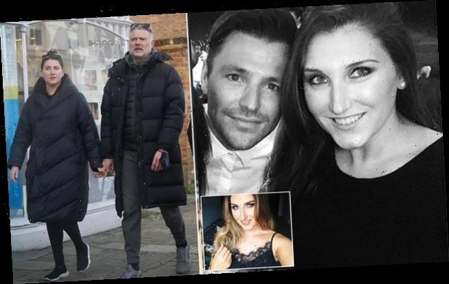 Revealed: Party girl, 28, seen hand-in-hand with John Leslie