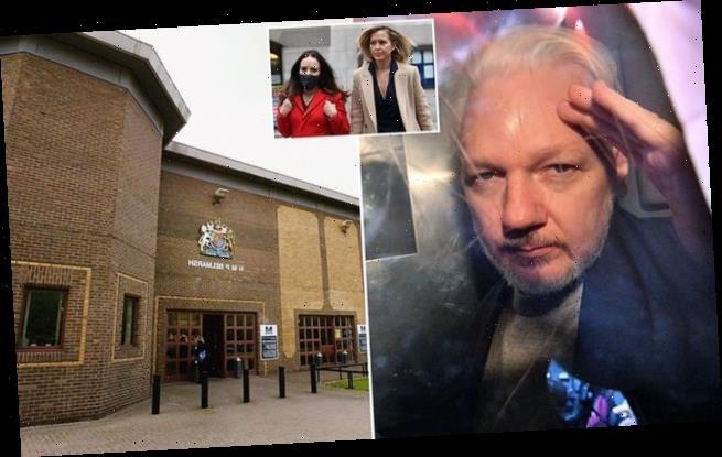Julian Assange in lockdown after Covid-19 outbreak at Belmarsh prison