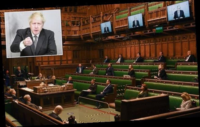 The Prime Minister hosting the first PMQs by videolink in history
