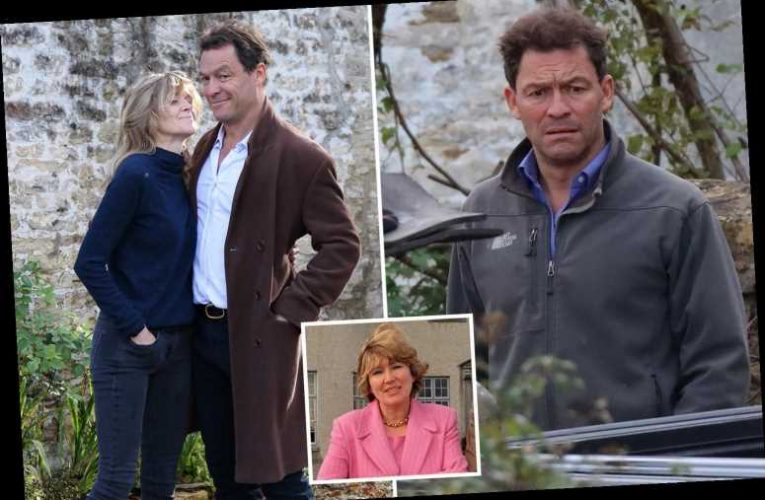 Dominic West's mother-in-law calls him 'DARLING' in sweet tribute after Lily James kiss scandal