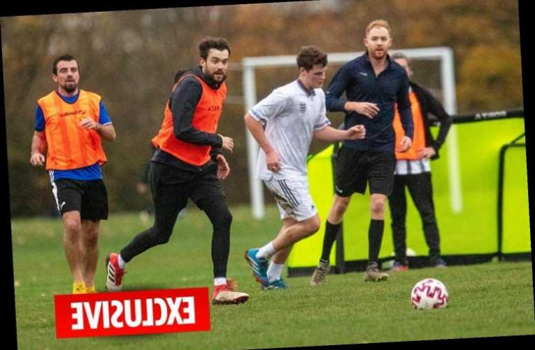 Jack Whitehall caught breaching lockdown rules by playing footie with a dozen mates