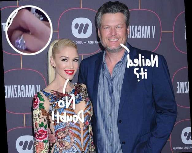 Gwen Stefani Finally Shares The First Up-Close Look At Her STUNNING Engagement Ring From Fiancé Blake Shelton!