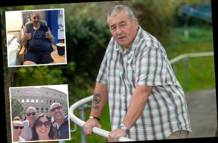Bricklayer fears he was first Brit to infect UK with Covid after 'nearly dying' with symptoms 14 MONTHS ago