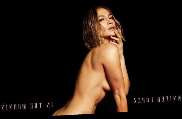 Nailed It! Jennifer Lopez Goes Nude for New Single's Steamy Cover
