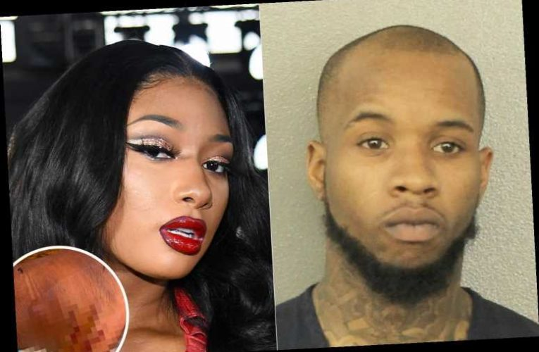 Tory Lanez pleads NOT guilty to shooting Megan Thee Stallion 'after he blasted her feet' and faces 22 years in prison