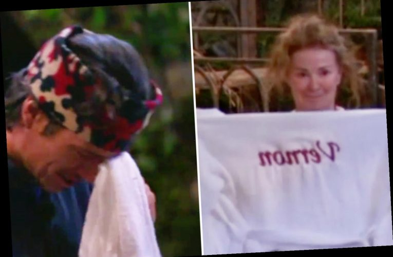 I'm A Celeb's Vernon Kay breaks down in tears as Beverley Callard gives him her spa day treat