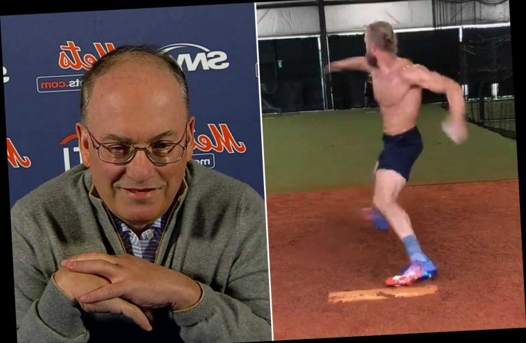 Mets' Noah Syndergaard is throwing — and Steve Cohen is hyped
