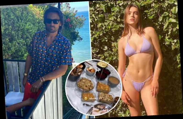 Scott Disick, 37, and Amelia Hamlin, 19, celebrate Thanksgiving together after he was slammed as 'sick' for dating her – The Sun