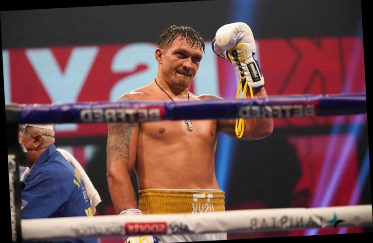 Oleksandr Usyk tells heavyweight rivals Anthony Joshua and Tyson Fury that he will become 'undisputed world champion'