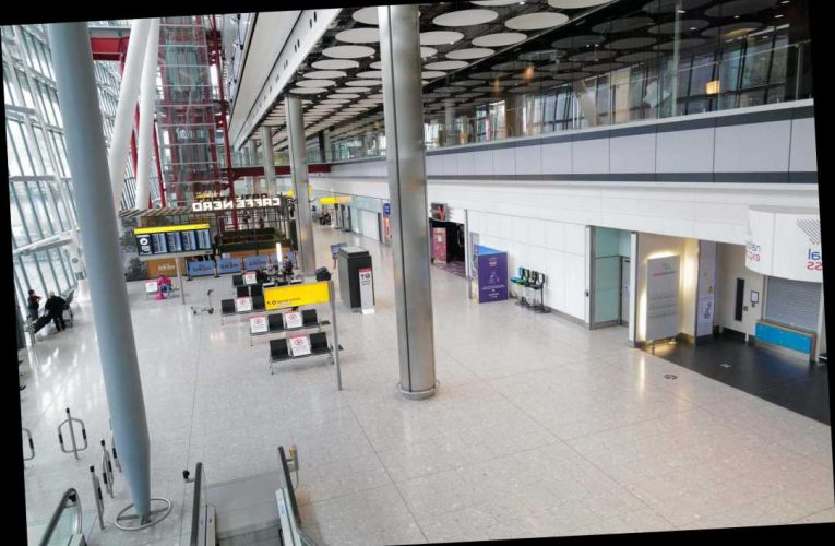 Heathrow Airport 4-day strike for baggage and security staff in December – causing chaos for post-lockdown holidays