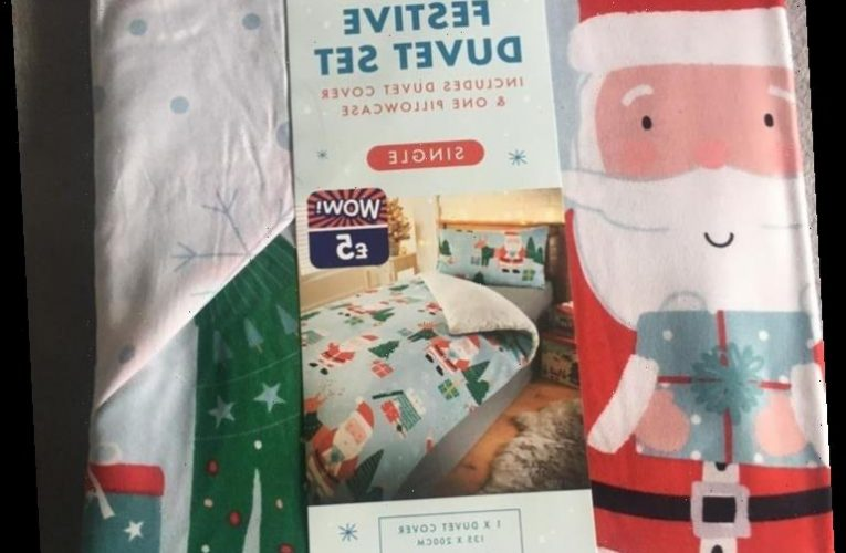 B&M is selling kids' Christmas bedding for just £5 & it's perfect for getting kids in the festive spirit