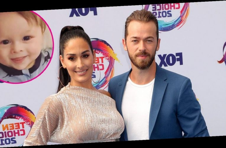 Go Dad! Nikki Bella and Son Celebrate Artem's 'DWTS' Win With Cute Video