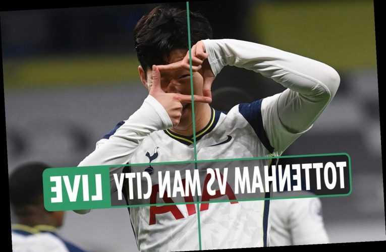 Tottenham 2 Man City 0 LIVE REACTION: Mourinho's men storm to top of league with tactical masterclass – latest updates