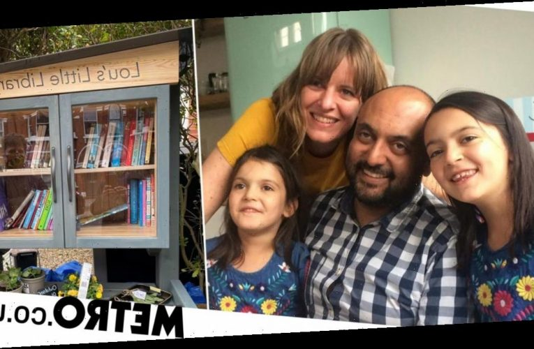 Man creates library in memory of wife who died 15 minutes after their wedding