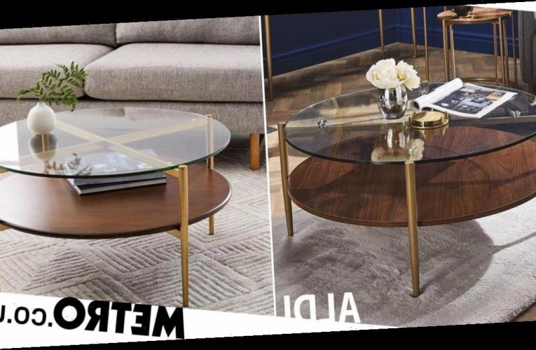New Aldi coffee table looks just like high-end version – but £330 cheaper