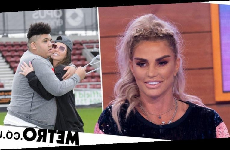 Katie Price calls out trolls who posted blackface video mocking Harvey