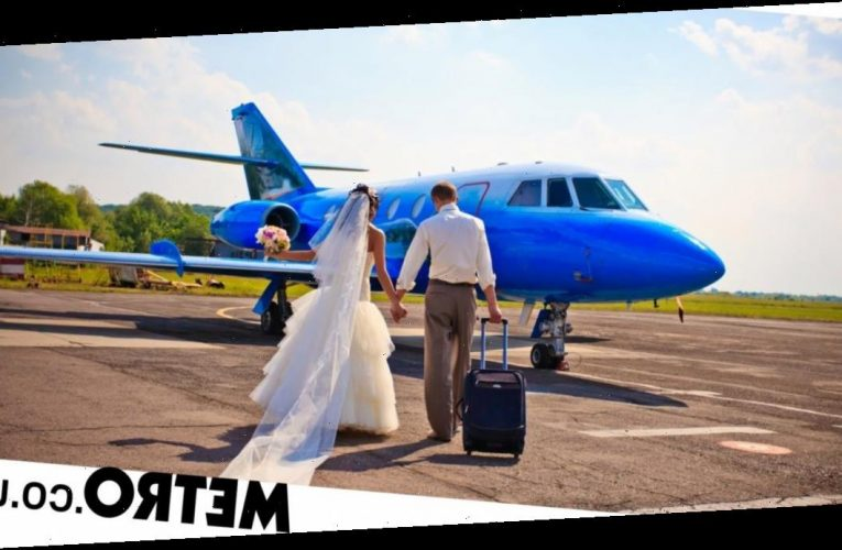 Get married in the sky with this private jet wedding package