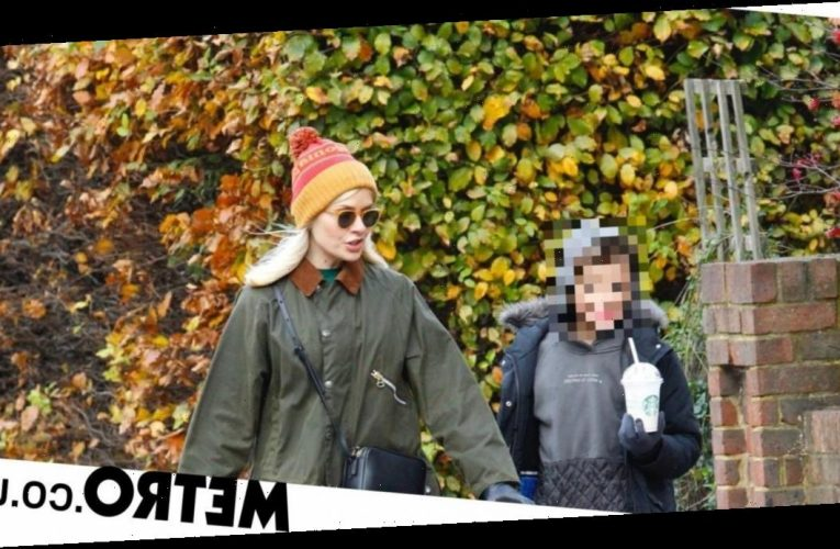 Holly Willoughby heads out with son to grab coffee after missing This Morning