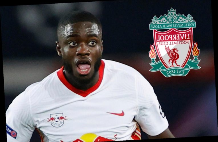 Man Utd joined by Liverpool in Dayot Upamecano transfer race as Klopp 'makes Leipzig star No1 target after Gomez injury'