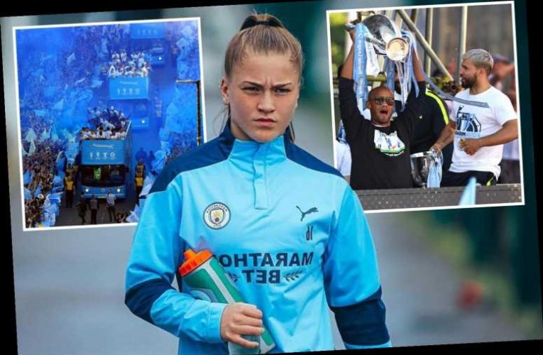The amazing rise of Man City whizkid Jess Park from playing outside local boozer to chats with hero Sergio Aguero
