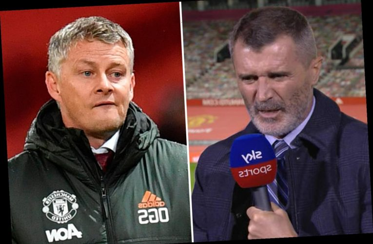 Man Utd legend Roy Keane blasts current stars and says 'God help us' when asked to give verdict on Solskjaer's squad
