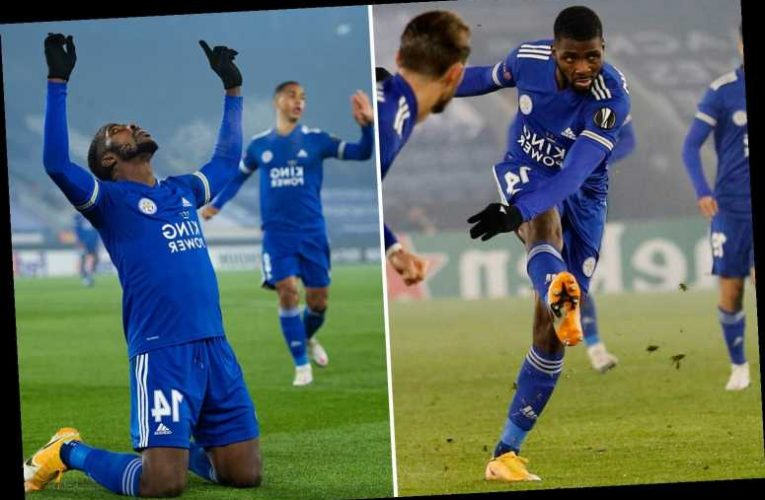 Leicester 4 Braga 0: Maddison on fire after England snub as Iheanacho scores twice and assists Praet in dominant win