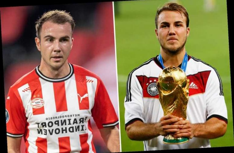 World Cup hero Mario Gotze in line for stunning Germany recall after three years exile following PSV Eindhoven transfer