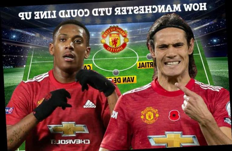 How Man Utd could line up vs Istanbul Basaksehir with Rashford rested and Cavani in contention to start