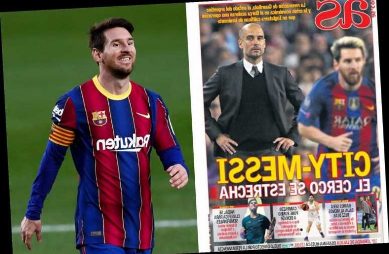 Lionel Messi transfer to Man City step closer as 'siege tightens' after Pep Guardiola signs new contract