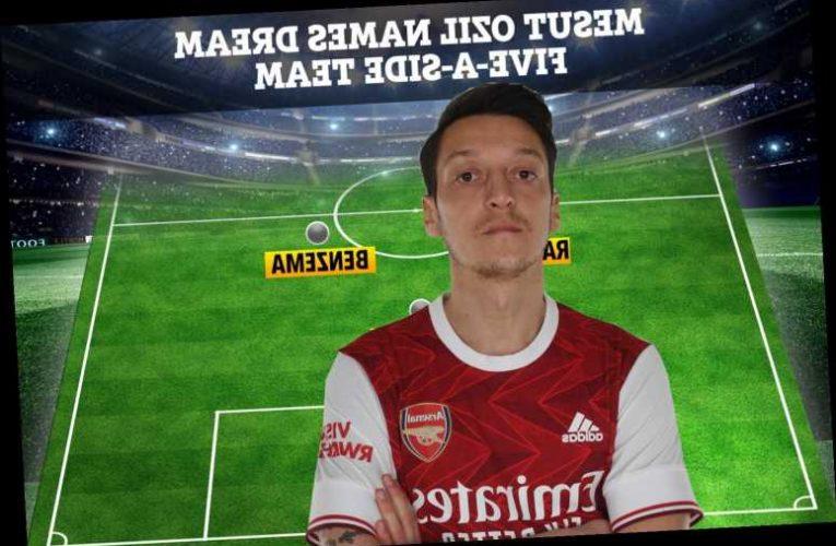 Mesut Ozil names dream five-a-side team and includes Man Utd hero Marcus Rashford but no Arsenal players