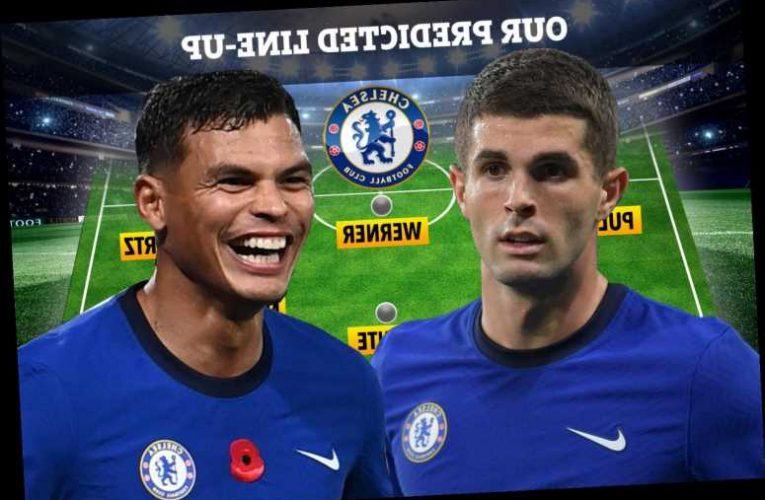 How Chelsea could line-up against Tottenham with Christian Pulisic set to return with Thiago Silva and Havertz starting