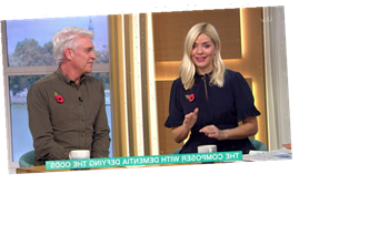 Holly Willoughby 'can't stop crying' as dementia suffering pianist Paul Harvey plays four notes picked by Phil Schofield