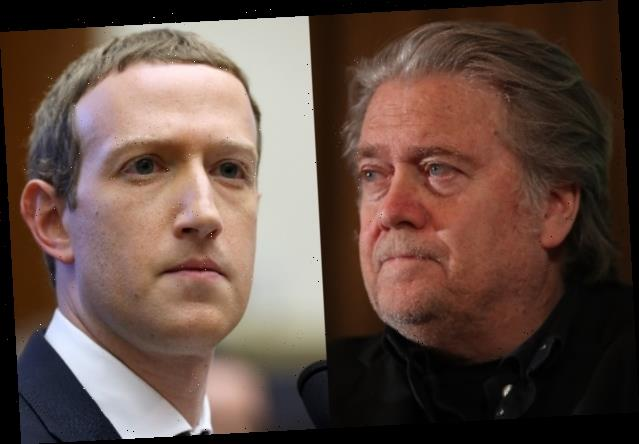 Mark Zuckerberg Says Steve Bannon 'Did Not Cross the Line' to Warrant Facebook Suspension