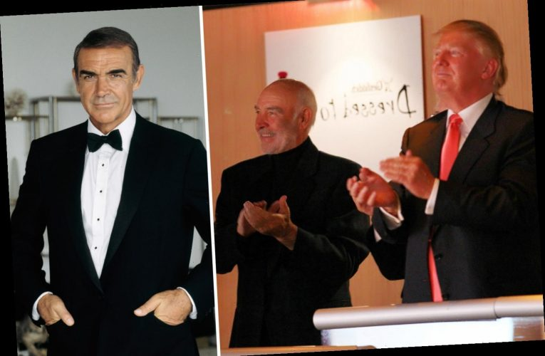 Trump says Sean Connery helped him win approval for Scotland development by shouting 'let him build the damn thing!'