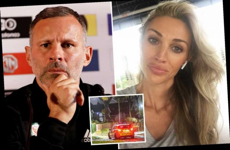 """Ryan Giggs 'rowed with girlfriend over """"flirty"""" messages to lingerie model before arrest'"""