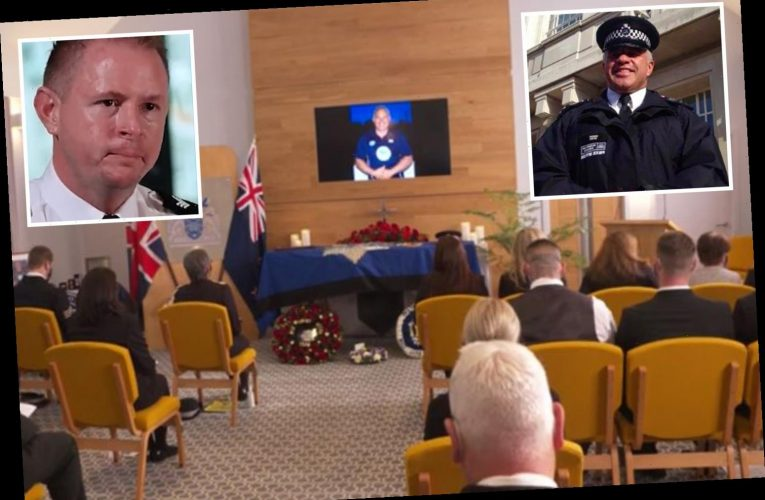 Sgt Matt Ratana – Met Police cops' tearful tribute to 'courageous' colleague as thousands watch live-streamed funeral