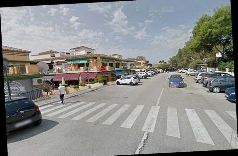 Cops hunt road rage killer in British car after teen stabbed in zebra crossing row on Costa del Sol