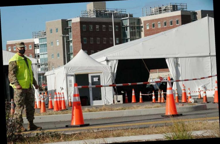 Staten Island emergency field hospital 'up and running,' accepts first patient
