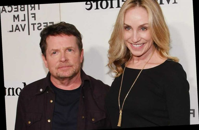 Who is Michael J Fox's wife Tracy Pollan?