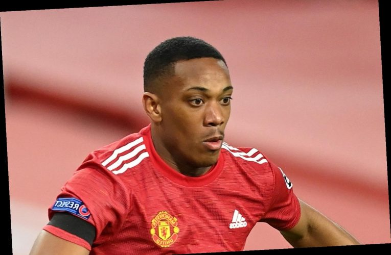 Anthony Martial 'in hotel by himself' after travelling with Man Utd squad and falling ill overnight before Saints game