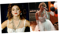 Wanna See J Lo in a White Wedding Dress? Just Check Out Her Madonna Halloween Costume