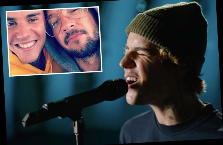 Justin Bieber stays stoic during CMA performance in first public appearance since pastor Carl Lentz's cheating scandal