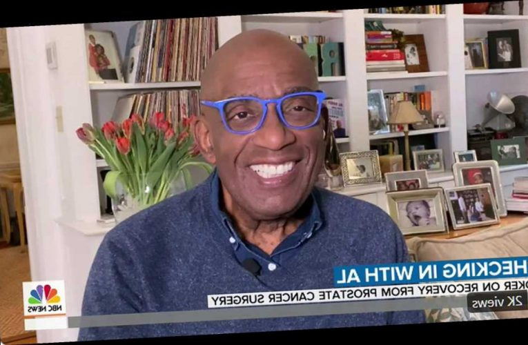Al Roker Shares 'Good News' on Today Show One Week After Undergoing Surgery for Prostate Cancer