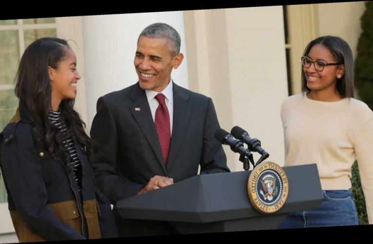 Barack Obama Was a Proud Dad When His Daughters Joined Black Lives Matter Protests