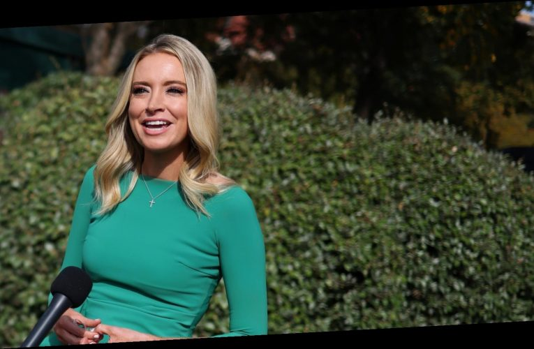 Here's how much Kayleigh McEnany makes as White House press secretary