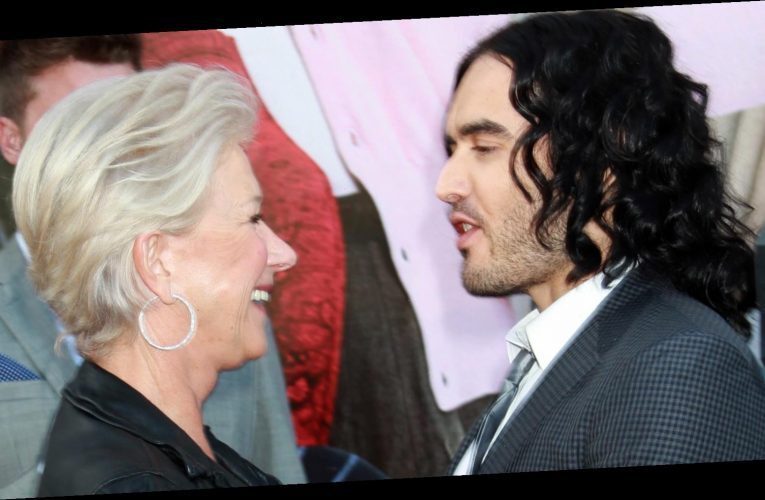 A look into Russell Brand and Helen Mirren's relationship