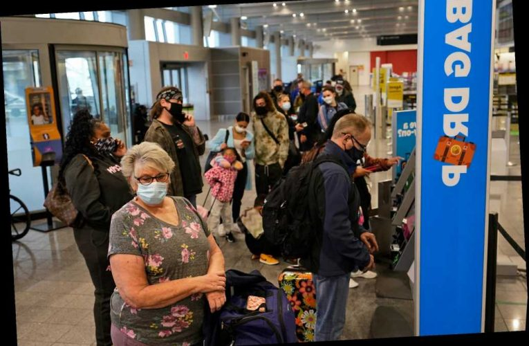 More than 1 million Americans traveled via plane the day before Thanksgiving